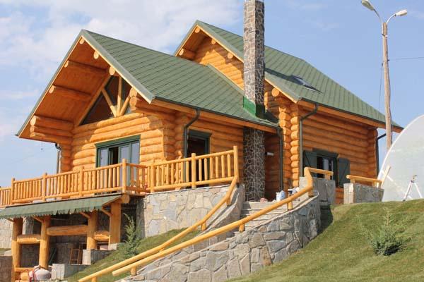 Case Di Tronchi Di Legno : Case di tronchi case con struttura di legno affarilegno.it