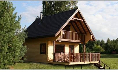 Case in legno di vari tipi for Case in legno lettonia