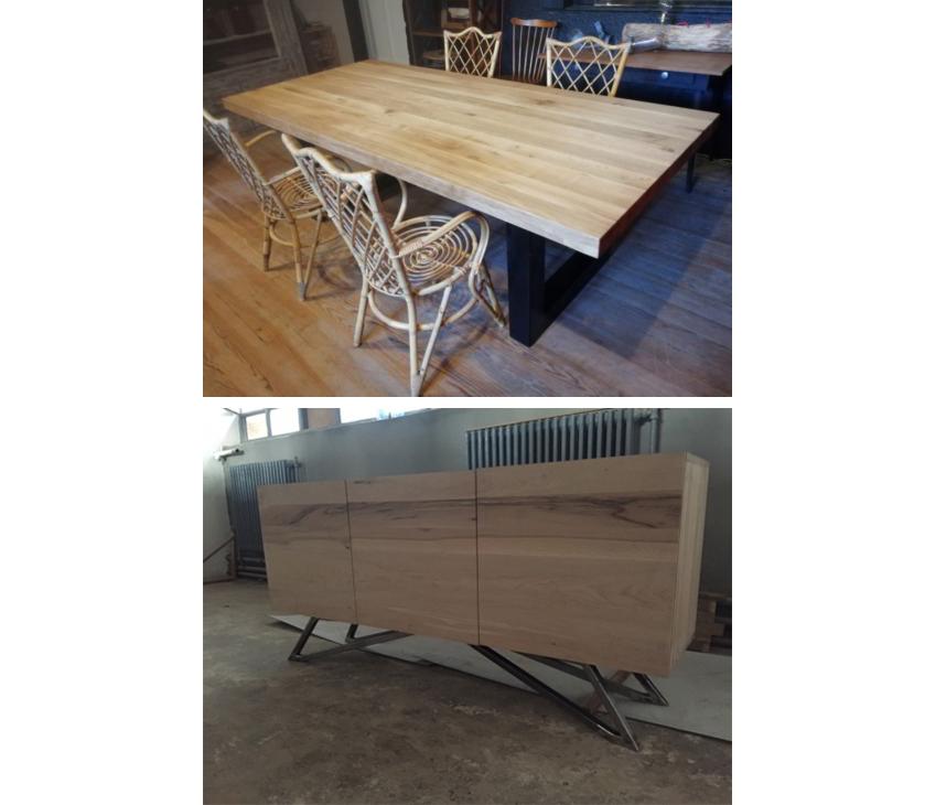 Siamo produttori di tavoli e mobili in legno massello for Produttori di mobili