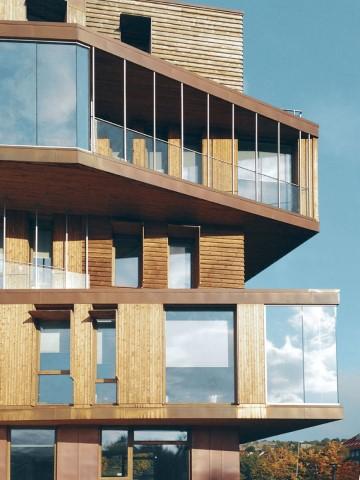 Edifici in legno fino a 18 piani sono stati realizzati in Nord America
